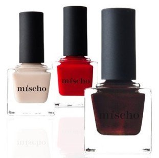 Mischo Beauty Holiday 2016 Nail Lacquer Set, $54, mischobeauty.com